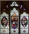 TL7164 : All Saints, Gazeley - Stained glass window by John Salmon