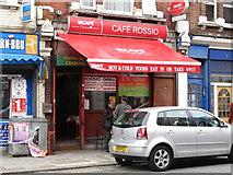 TQ2282 : Café Rossio, Harrow Road, NW10 by Mike Quinn