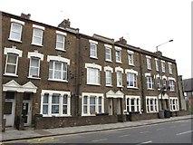 TQ2282 : Terraced houses, Harrow Road, NW10 by Mike Quinn