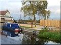 SK7181 : Seth Ellis moored at the Hop Pole by Christine Johnstone