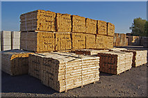 TA0623 : Imported Timber at Old Ferry Wharf by David Wright