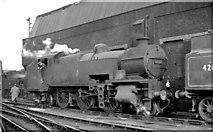 TQ2976 : SR 2-6-4T at Stewarts Lane Locomotive Depot by Ben Brooksbank