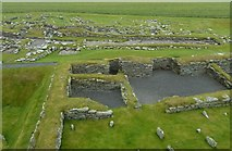 HU3909 : Jarlshof - Norse settlement from the Laird's house by Rob Farrow