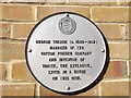 TR0161 : Plaque on No.42 Abbey Street, Faversham by David Anstiss
