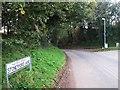 SJ5771 : Stonyford Lane southwest of Cuddington by Alex McGregor
