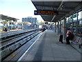 TQ3884 : Docklands Light Railway platforms at Stratford by Marathon