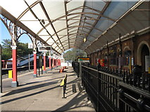 NZ3472 : Monkseaton - station interior by Dave Bevis