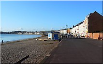 SY6879 : South-west along the South-West Coastal Path, Weymouth by Brian Robert Marshall