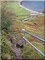 NG5152 : Path to Bearreraig Bay by Richard Dorrell