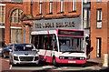 J3473 : Gasworks bus, Belfast by Albert Bridge