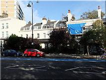 TQ2977 : Houses in Grosvenor Road, Pimlico by PAUL FARMER