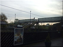 SE4081 : Footbridge, Thirsk Station by JThomas