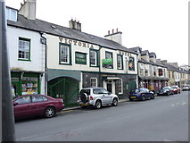 SH6266 : The Victoria (Hotel) on the High Street, Bethesda by Meirion