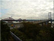 NT1279 : The Forth Bridges by kim traynor