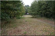 SK5853 : Rigg Lane Car Park by Alan Murray-Rust