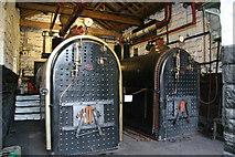 SK3155 : Leawood Pump, Cromford - the boilers by Chris Allen