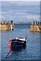 SW4726 : Mousehole Harbour entrance by Ian Capper