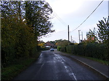 TM1476 : Rectory Road, Brome by Adrian Cable