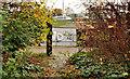 J3876 : Gate, Tillysburn, Belfast by Albert Bridge