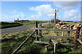 SY5586 : South Dorset Ridgeway crossing the B3157 by Rob Noble