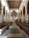 TF3244 : St Botolph's - The Nave by Rob Farrow