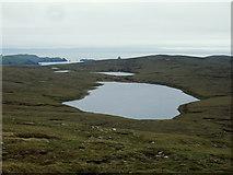 HU2780 : Upper Mill Loch of Stovabrek by David Nicolson