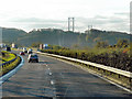 NT1281 : A90 Nearing the Bridge by David Dixon