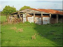 ST3050 : Derelict farm buildings, Burnham by Ken Grainger