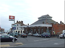 TQ7407 : Bexhill station by Malc McDonald