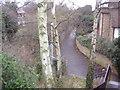 TQ0986 : Path alongside Ruislip station by David Howard