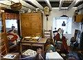 NO4011 : Inside a cottar's house by kim traynor