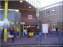 TQ0584 : The rear entrance to Uxbridge Tube station by David Howard