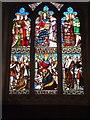 SY1099 : East window of Melanesian Chapel of Feniton Church by David Smith