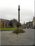 NO4030 : Dundee Town Cross by David Dixon