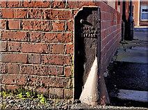 J0153 : Corner protection, Portadown by Albert Bridge