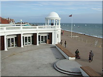 TQ7407 : King George V Colonnade, Bexhill by Malc McDonald