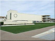 TQ7407 : De La Warr Pavilion, Bexhill by Malc McDonald