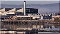 J3675 : Bombardier factory, Belfast by Albert Bridge