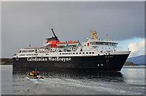 NM8529 : Isle of Mull in Oban Bay by The Carlisle Kid