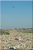 TQ5782 : Landfill and Uplift by Glyn Baker