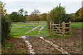 TQ3728 : Kissing Gate Near Little Oddynes, Sussex by Peter Trimming