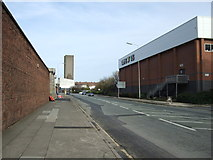SJ3391 : Waterloo Road (A5036) heading north by JThomas