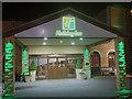 SE3105 : The entrance to the Holiday Inn Barnsley by Steve  Fareham