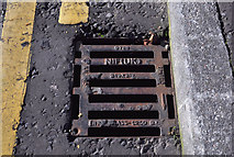 J3673 : NIF (UK) grating cover, Belfast by Albert Bridge