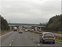 SD4953 : M6, Bridge at Whams Lane by David Dixon