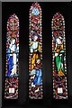 SO6765 : Stained glass window, Hanley William church by Philip Halling