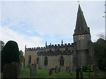 SK2572 : Church of St Anne, Baslow by Tim Heaton