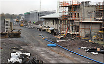 J3271 : New train maintenance depot, Belfast (13) by Albert Bridge