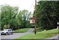 SU7316 : Red Lion sign, Chalton by N Chadwick