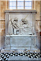 ST9253 : Taylor monument - priory church, Edington by Mike Searle